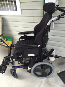 Deluxe Wheelchair Prince George British Columbia image 1