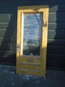 3 portes architectural bois et fenêtres bois