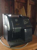 Coffee maker inversion table noise maker