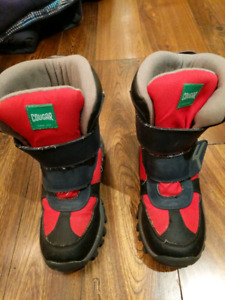 Boys winter boots - cougar trans am - size 1m