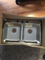 NEW kindred stainless steel sink