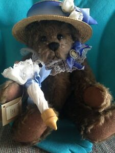 """Helena"" Gallery Teddy Bear"