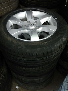 TPMS / 215 60 16 tires on OEM Nissan Altima alloy rims 5x114.3