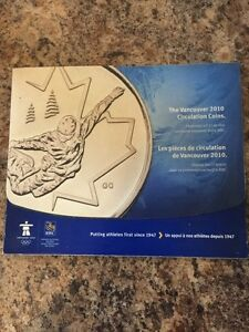 Vancouver 2010 circulation coins Cambridge Kitchener Area image 1