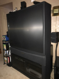 "FREE 51"" Panasonic TV"