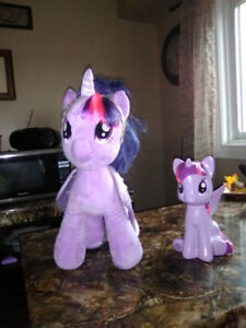 """My Little Pony """"Twighlight Sparkle"""" Build-a-Bear Plush and bank!"""