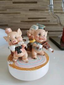 Walt Disney Three little pigs
