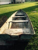 "Steel ""tilbury style"" boat"
