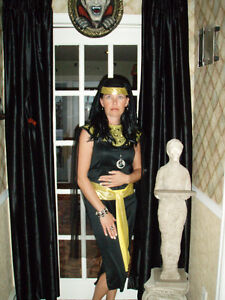 Egyptian ladies costume size 8/10 in St Thomas