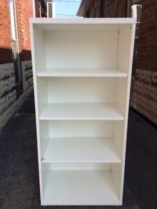 White Ikea  Besta bookcase / shelves / cabinet