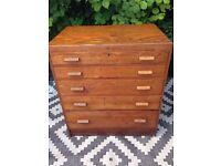 Plan chest / school drawers