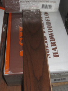 """Finished 3/4"""" x 3 1/4"""" hardwood flooring (approx. 115 sq ft)"""