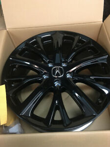 "ACURA RDX / ILX / TLX 18"" BLACK DIAMOND CUT wheels"