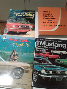 1964-66 Mustang Collectibles lot # 4
