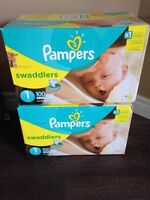 2 Boxes of Pampers