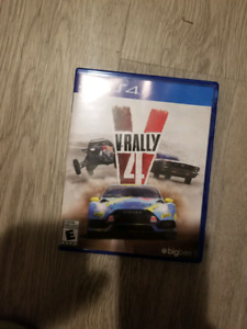 V RALLY 4 PS4 **PRICED FOR QUICK SALE **