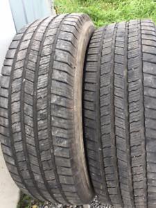 2x Été LT 275/65R20 10ply Michelin LTX M/S2