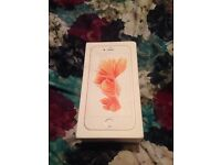 IPhone 6s rose gold 64gb new