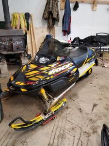 2002 Ski-Doo MXZ 700 $2,000