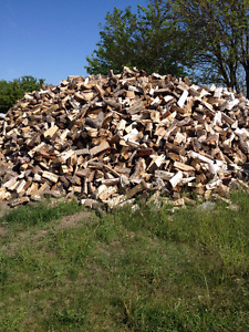 MIXED SEASONED FIREWOOD