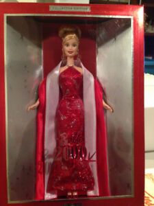 Collector Barbie dolls