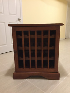 **Excellent quality Natural Cherry Wood Wine Rack*Original Owner