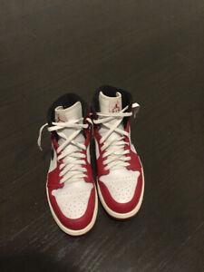 "Jordan 1's ""The Chicago"" and Jordan 3's For Sale....Both Worn"