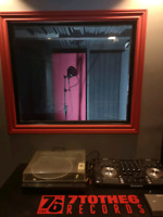Dream of singing or rapping in a pro studio.