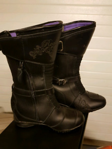 Women motorcycle boots size 9