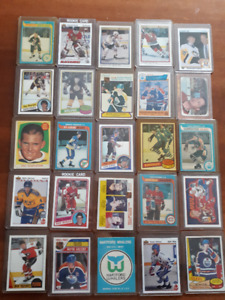 Bobby Smith RC, Michel Goulet RC, Rick Tocchet RC,