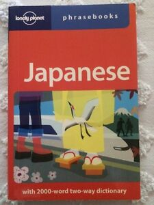 Lonely Planet Japanese Phrase Book
