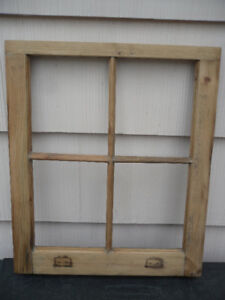 antique pine frames - converted window sashes