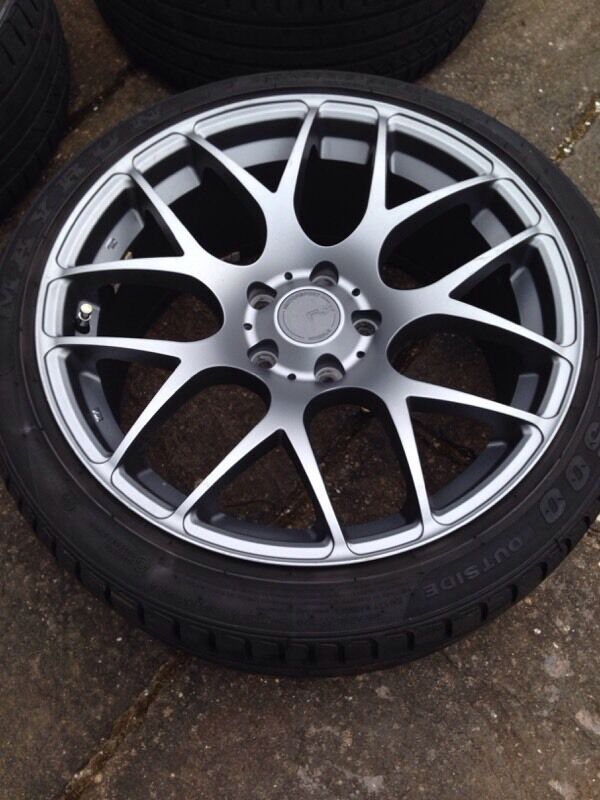 18 Quot Fox Racing Ms007 Alloys 5x110 Vauxhall With Excellent