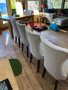 comfy dining chairs