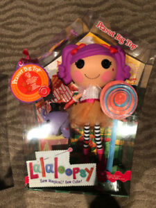 NEW in box original Lalaloopsy Peanut Big Top doll