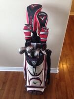 Callaway Diablo irons, hybrids, Driver, 3 wood BAG INCLUDED