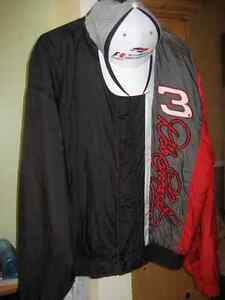 Men's XL NASCAR Dale Earnhardt jacket and cap