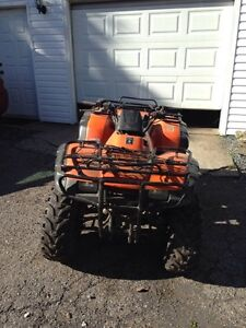 2002 honda 350 fourtrax