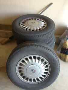 Michelin HydroEdge Tires and buick rims