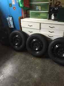 4 winter tires and rims for sale London Ontario image 1
