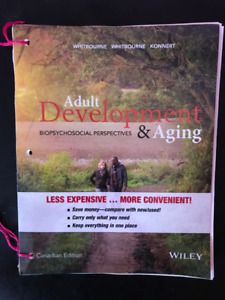 Adult Development & Aging Can. Ed. by Whitbourne