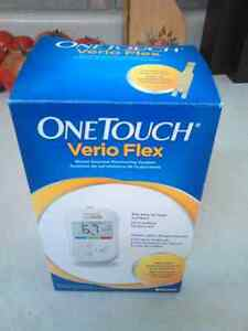 NEW ONE TOUCH VERIO FLEX BLOOD GLUCOSE MONITORING SYSTEM