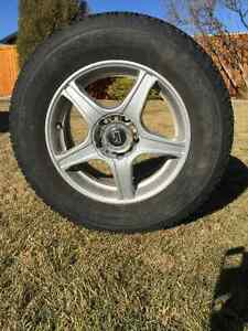 Rims with 4 tires