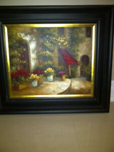 Beautiful  oil canvas with frame