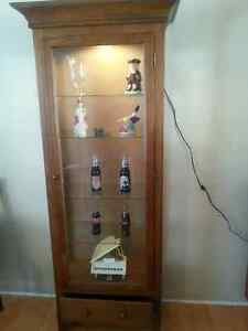 Lighted Glass Display Cabinet