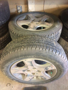 4-195/65R15 Honda Civic Si General All Season tire