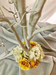 """(FOR RENT) MANZANITA TREES Decorated w/ Silk Flowers 4ft (48"""")"""