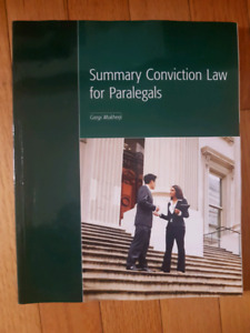 Summary Conviction Law for Paralegals