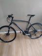 White ridgeway hybrid bike , no offers