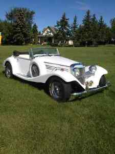 1936 mercedes marlene dietrich kit car